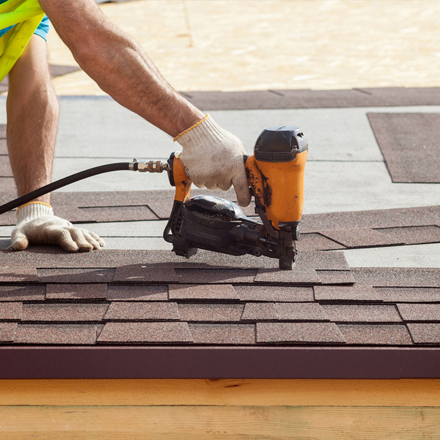 We'll install your asphalt roof quickly and professionally